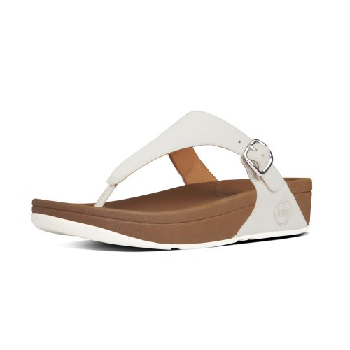 10d556383 The Skinny™ Women  039 s Toe Thong Sandals in Urban White
