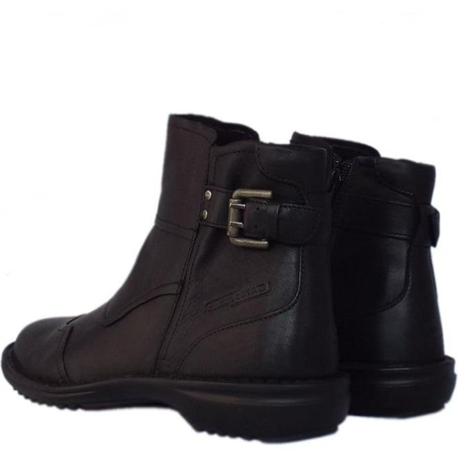 249747946e Camel Active Tiara Niagara | Women's Short Boots in Black | Mozimo