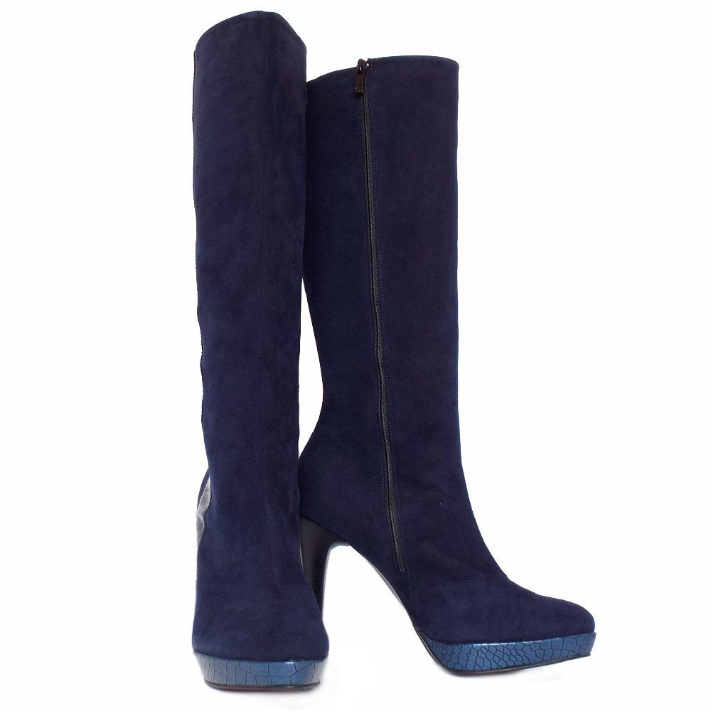 Unique  Boots  Daniel  Daniel Navy Emburey Womens Knee High Boot