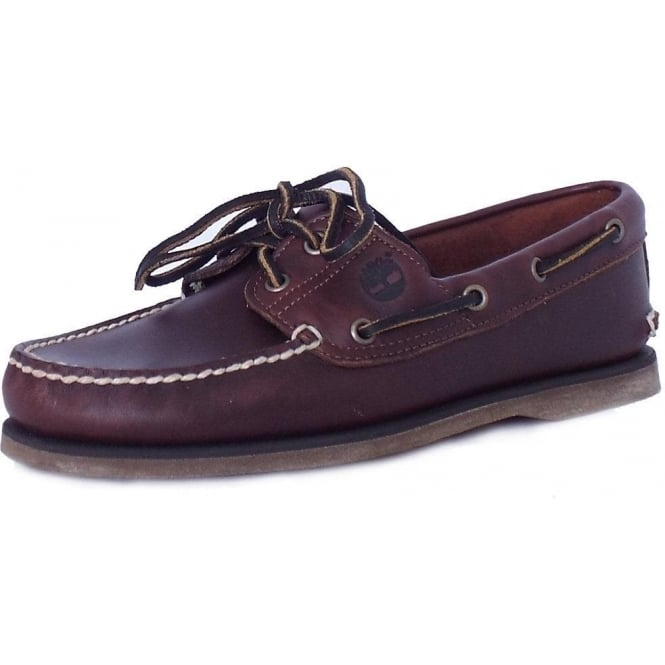 Timberland 25077 Men's Classic Boat Shoes in Brown
