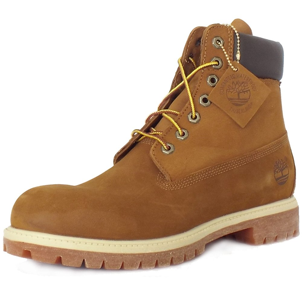 timberland 72066 iconic s 6 quot boot in rust nubuck