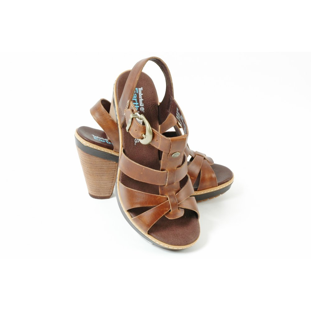 Timberland 24670 Chauncey Women S Leather Strappy Sandal