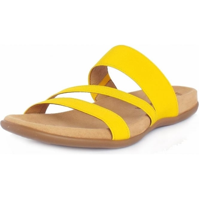 cf505fadf Tomcat Ladies Sandal in Sun Yellow