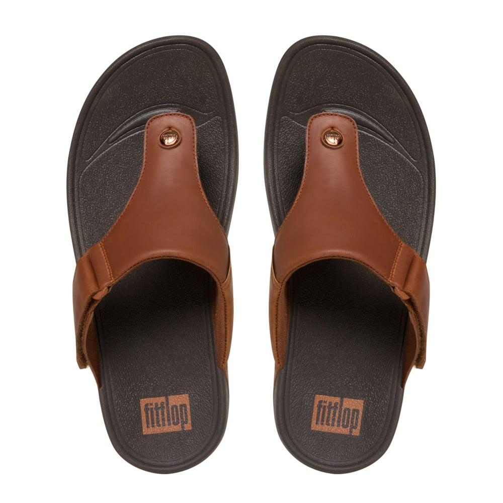 fitflop trakk ii sandals men 39 s tan leather sandals. Black Bedroom Furniture Sets. Home Design Ideas