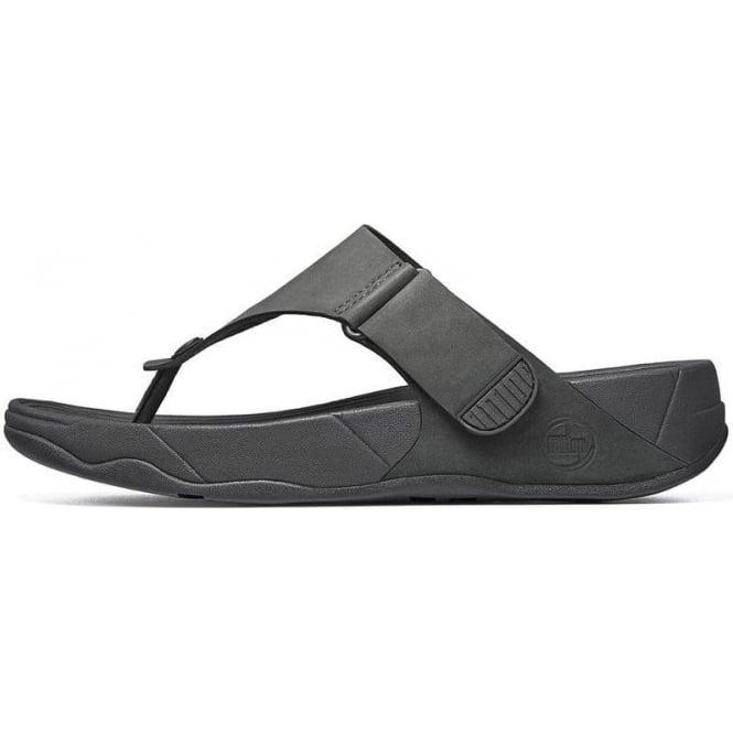 654f058c7fe0 FitFlops - Mens Trakk II Adjustable Mens FitFlop Sandals in Black