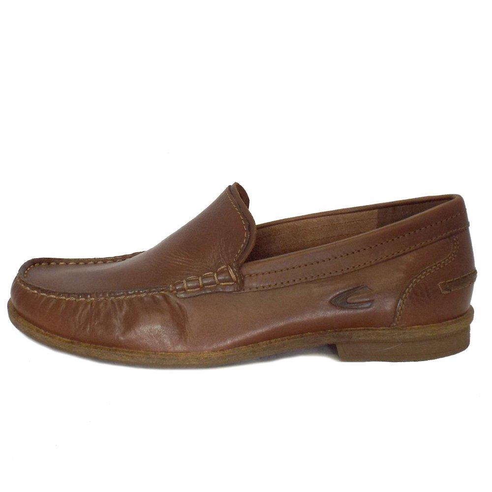 Camel Active   Travis Brown Leather Mens Slip On Loafer ...