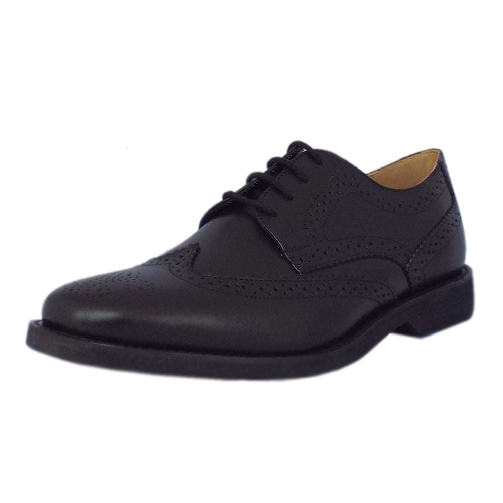 anatomic gel tucano mens black leather shoes mozimo