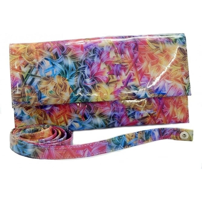 info for a4031 5c40f Peter Kaiser Vegana Ladies Fold Over Clutch in Multi Colour