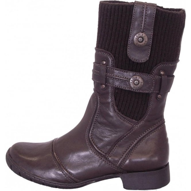 29b7874f2c Camel Active Vegas | Military style short boots in mocca | Buy Camel Active  at MoZiMo
