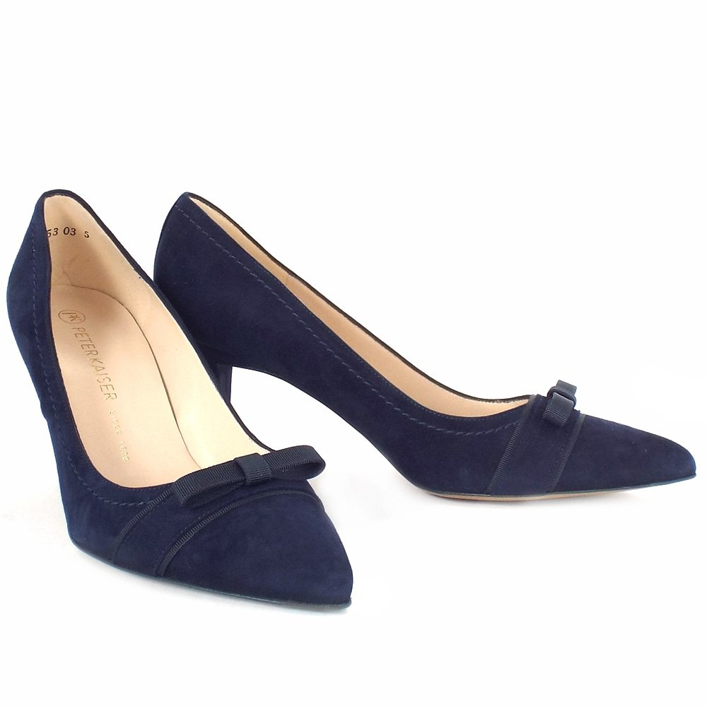 Classy Pointed Toe Court Shoes In