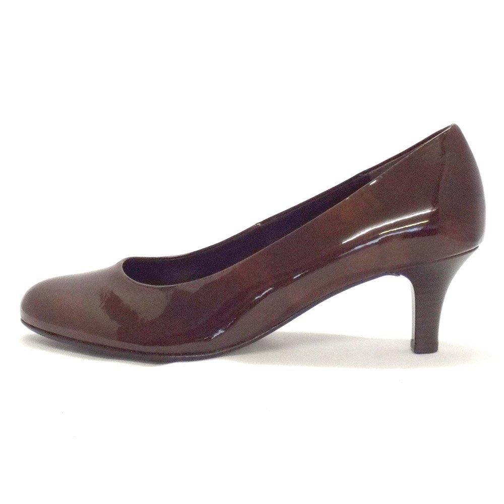 Brown Kitten Heel Shoes
