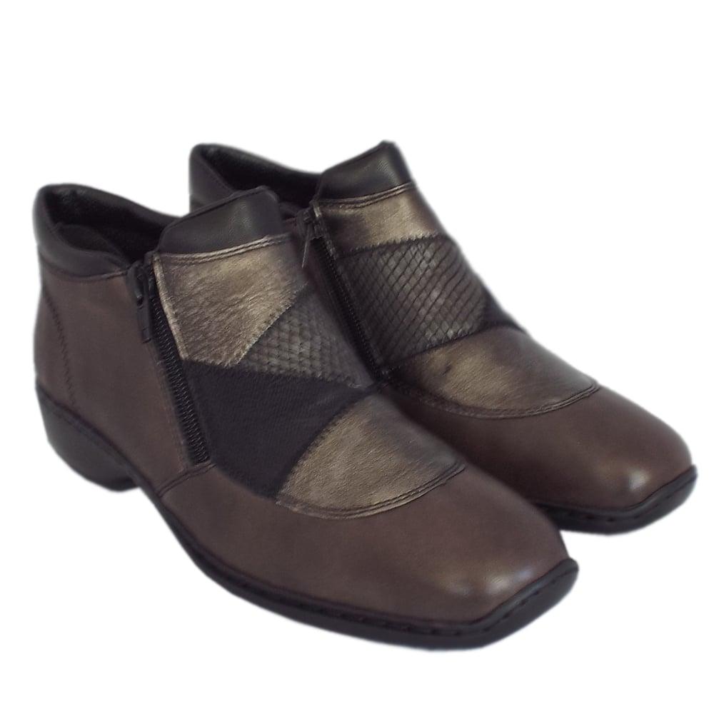 rieker vivaro l3860 45 s comfortable ankle boots