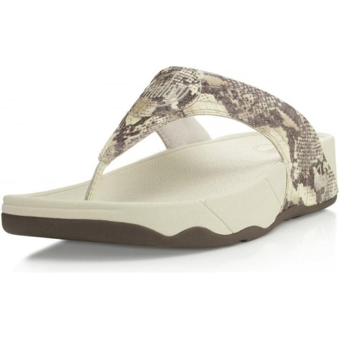6e9871bbecb8 FitFlop FitFlop Walkstar III Snake womens leather fitness sandal