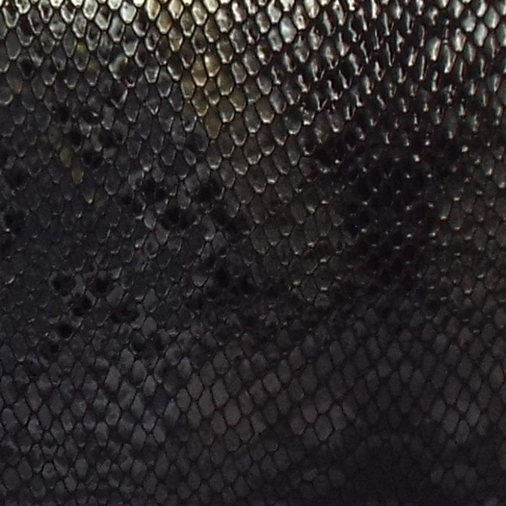 Peter Kaiser Winema Evening Clutch Bag Black Snake