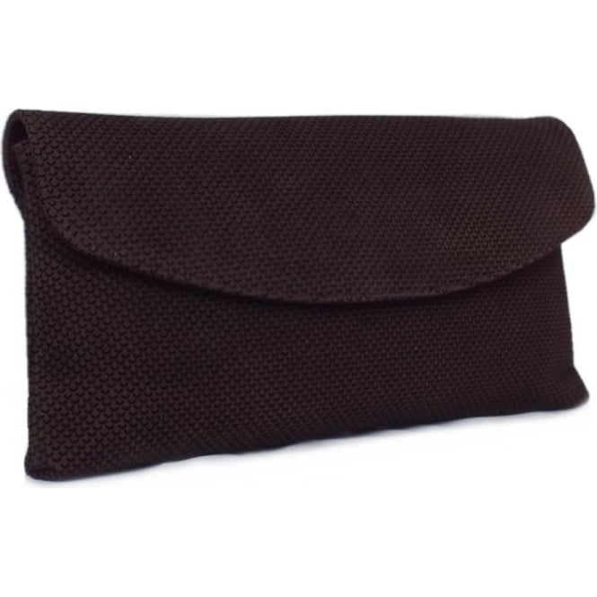 Peter Kaiser Winema Clutch Bag in Nuba Moon Suede