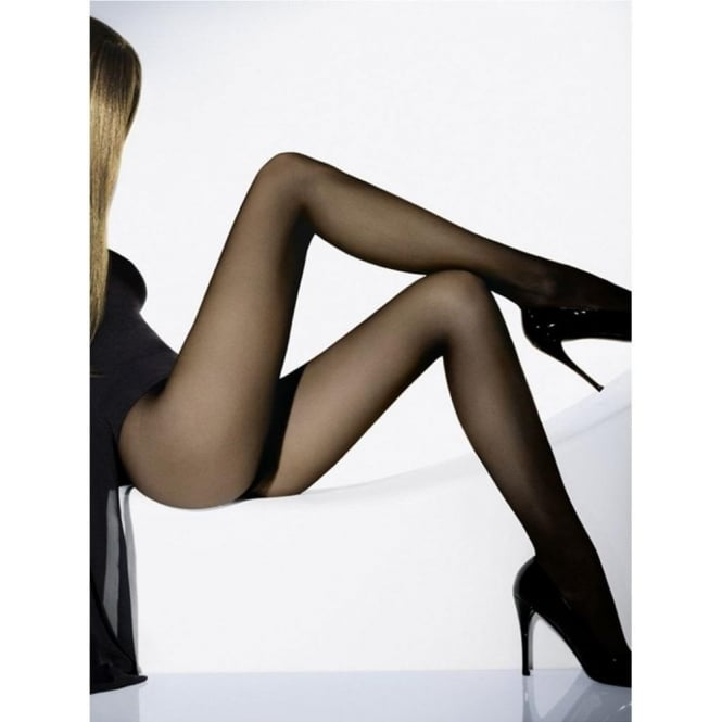 Wolford Individual 10 Women's Luxury Tights in Black