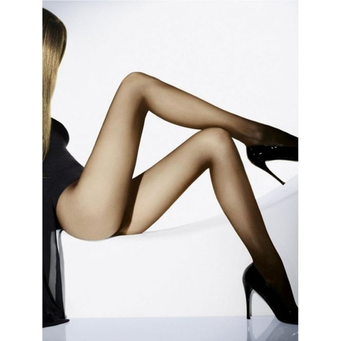 Wolford Individual 10 Women's Luxury Tights in Cosmetic