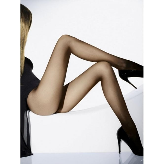 Wolford Individual 10 Women's Luxury Tights in Sand