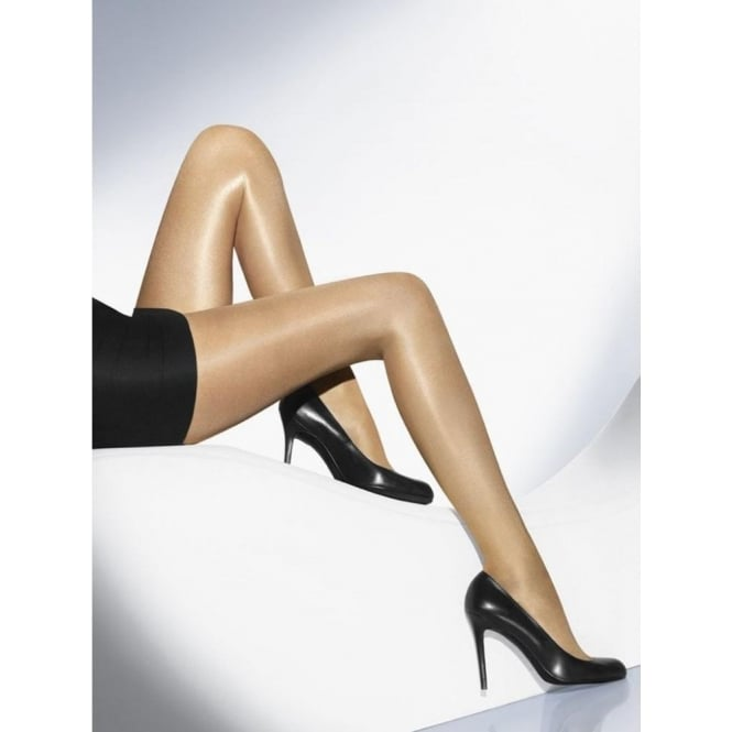 Wolford Neon 40 Women's Glossy Luxury Tights in Gobi