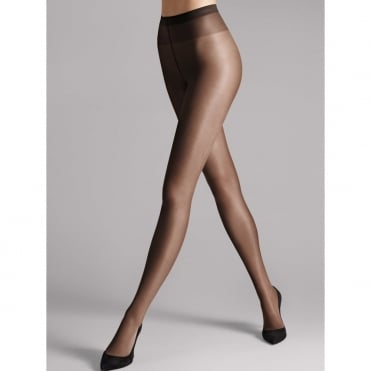 Satin Touch 20 Denier Womens Tights in Nearly Black