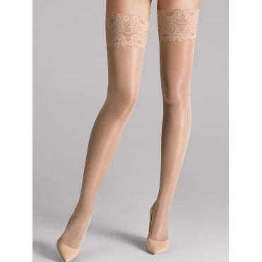 Satin Touch 20 Stay-Up Tights in Cosmetic