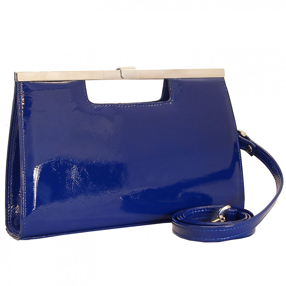 ysl duffle bag - Peter Kaiser Wye 13 | Classic clutch in royal blue patent | Mozimo