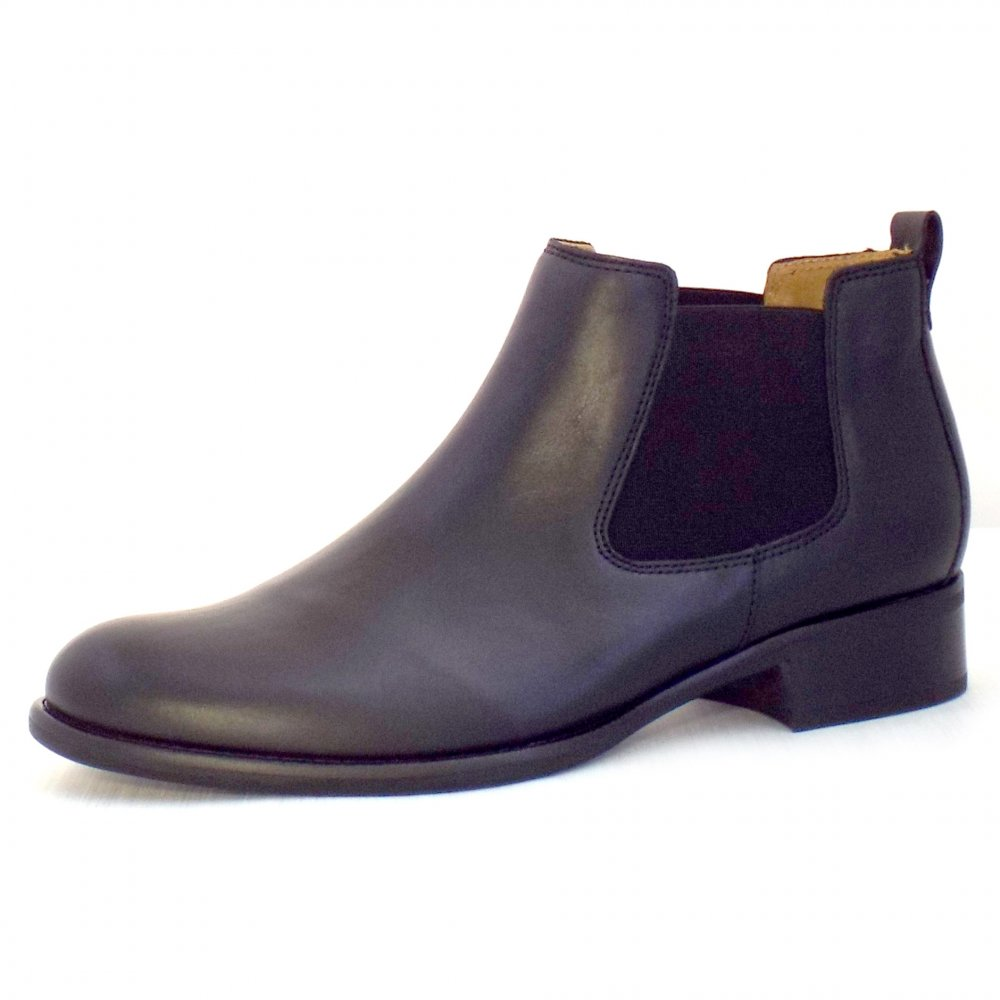 gabor boots zodiac ladies black leather chelsea boot. Black Bedroom Furniture Sets. Home Design Ideas